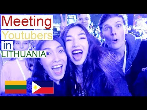 "Social Media Fest 2017 ""Youtubers Meeting in Lithuania"" (PinayVlog) 