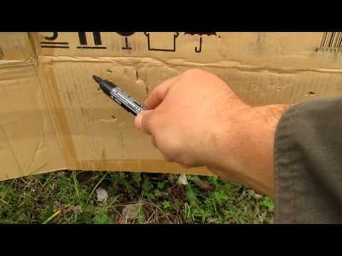 Тест патронов с контейнером и без.