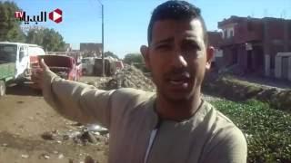 مزارعى «الشناوية» ببني سويف يتضررون من امتلاء المصارف والترع بالقمامة