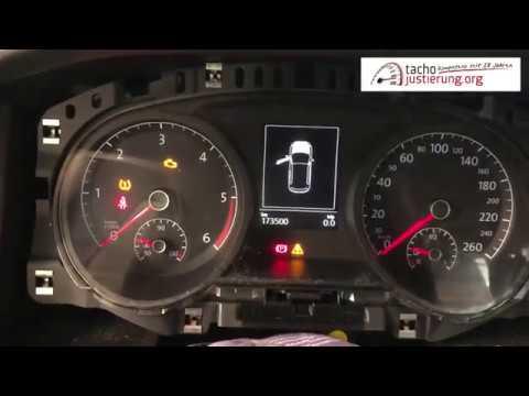 Tachojustierung VW Golf 7 JCI Johnson Controls Touran Passat Mit DP4