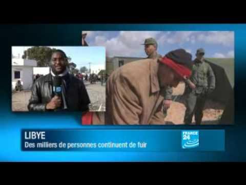LIBYE-TUNISIE : Le poste-frontière de Ras Jdir