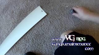 One Nice Easy Little Trick For Repairing Broken Vertical Blinds Slats Vanes