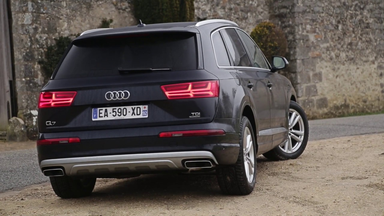 essai audi q7 3 0 v6 tdi 218ch ambition luxe youtube. Black Bedroom Furniture Sets. Home Design Ideas