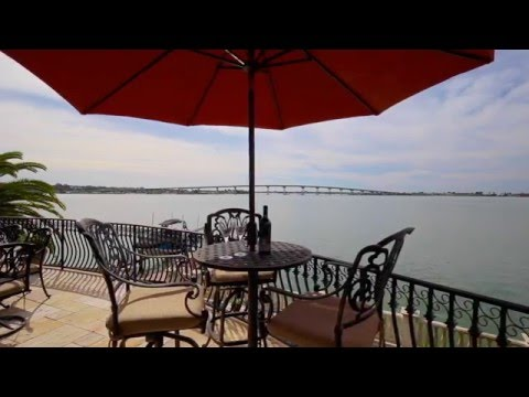 Waterfront Home For Sale In Belleair Florida