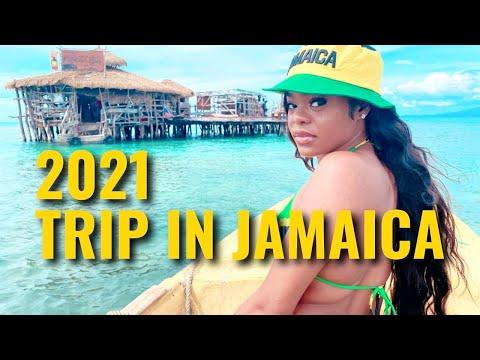 UNFORGETTABLE 2021 BDAY TRIP TO AIRBNB JAMAICA, PELICAN BAR + YS FALLS (Jamaica Vlog) | Kayy Moodie