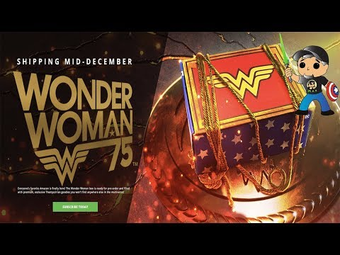 Subscription Boxes: World's Finest Collection - Wonder Woman Unboxing and Review