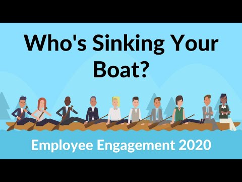 Employee Engagement - Who's Sinking Your Boat? 2021