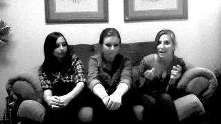 "The Swing Kittens-""A Bushel and A Peck"" Acapella Andrews Sisters Cover"