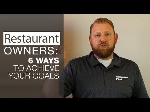 wine article Restaurant Owners 6 Ways to Achieve your Goals