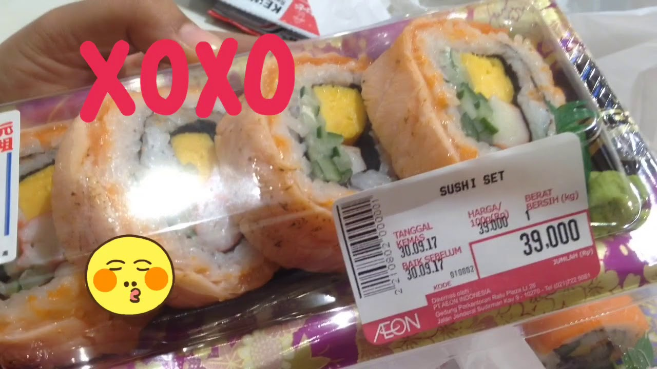 Sushi Enak Dan Murah Di Aeon Jakarta Garden City Jgc Anvlog 15 Review Youtube