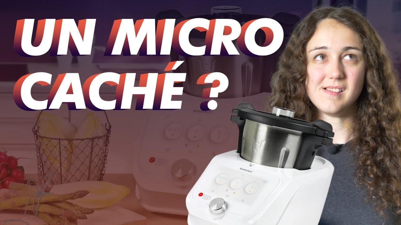 monsieur cuisine connect micro cache