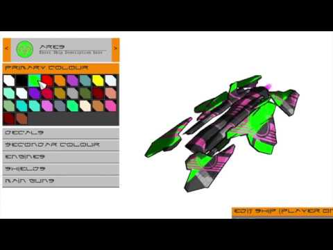 Metric Racer - Ship Editor
