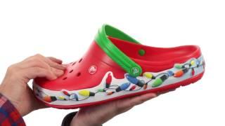 Crocs Crocband Holiday Lights Clog SKU:8729148