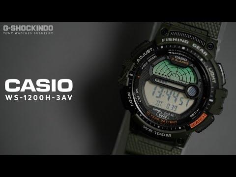 Unboxing & Cara Setting Casio WS-1200H-3AV (indonesia)