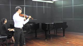 Mozart Violin Concerto No. 5 in A Major, 2nd movement (Adagio)