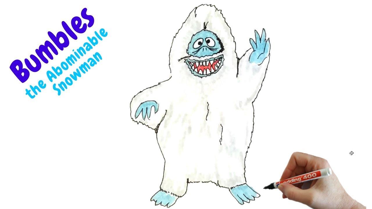 abominable snowman coloring pages getcoloringpages com. best ... | 720x1280