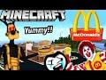 BENDY & BORIS GO TO MCDONALD'S IN MINECRAFT! (BATIM Minecraft)
