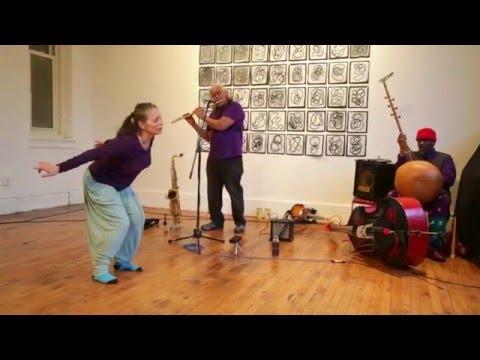 Patricia Parker / Mixashawn Rozie / William Parker - NYC Free Jazz Summit / Arts for Art - 4/10/16
