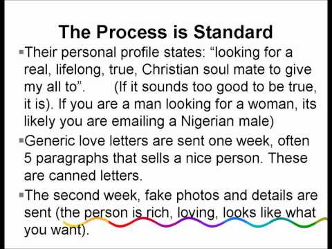 How to Detect Nigerian Love Scammers in Dating and Personals Websites