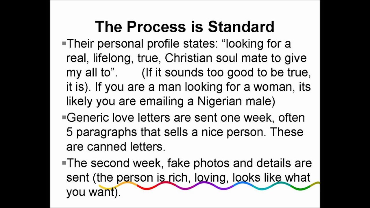 Pdf on how to scam in dating sites
