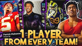 ONE PLAYER FROM EVERY TEAM! PATRICK MAHOMES, DERRICK HENRY! Madden 20 Ultimate Team