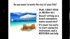 5 Minute Finance: Retirement and why you need a ROTH IRA