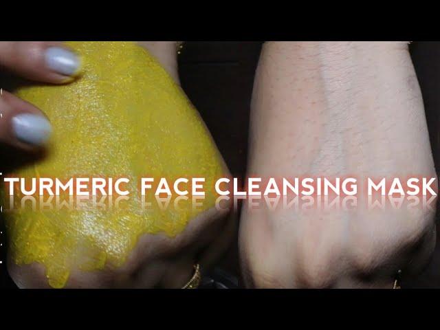घर मे ये नुस्खा अपनाये चेहरा चमक जाएगा Turmeric Face Cleansing Pack Mask