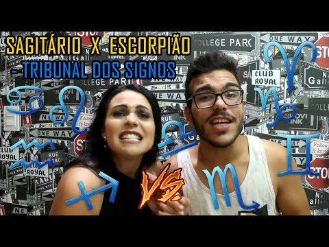 ESCORPIÃO VS SAGITÁRIO