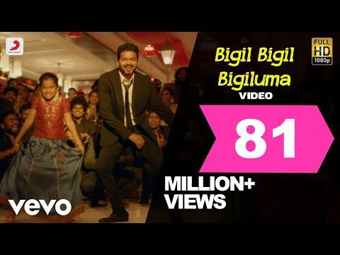 Bigil   Bigil Bigil Bigiluma    Vijay, Nayanthara   A.r Rahman   Atlee