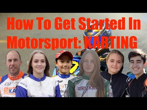 Get Started In Motorsport [ Karting ] Go Karts, Equipment, Classes EXPLAINED!
