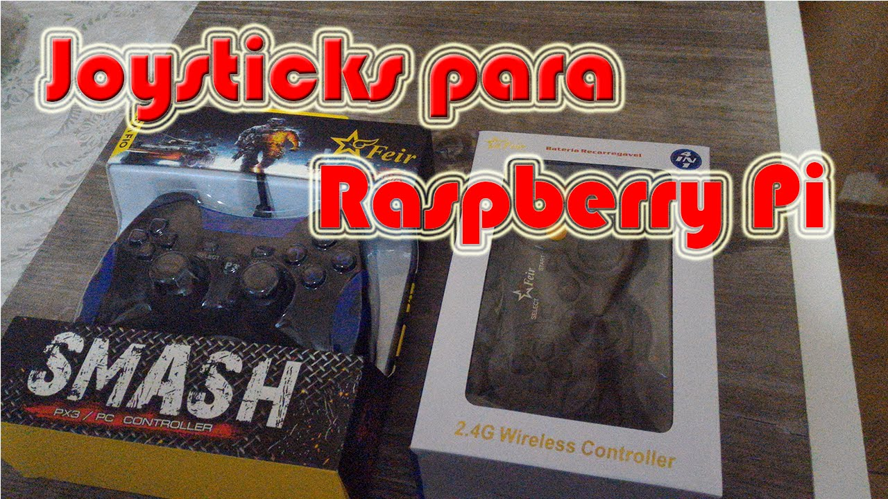 Dica de Joysticks para Raspberry Pi e tutorial 2 Players no Recalbox e  RetroPie !!!
