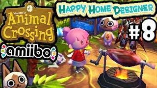 Animal Crossing Happy Home Designer Gameplay Walkthrough LIVE Stream PART 8 (Felyne House) 3DS