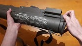 M72 LAW 66mm warhead replica (dummy) - YouTube