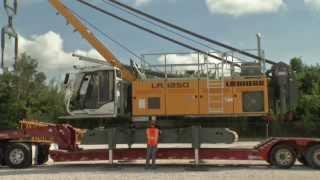 Liebherr - Self assembly system for the LR 1250 crawler crane