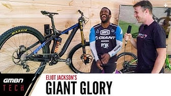 Eliot Jackson's Giant Glory | Pro Bike Chat