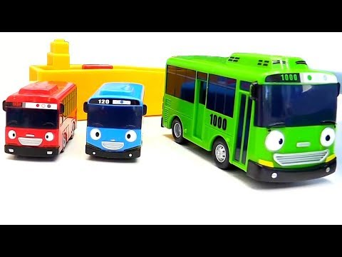 ТРАССА ТАЙО. Игры для мальчиков. Развивающее видео про Игрушки. Автобусы