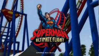 SUPERMAN Ultimate Flight - New for 2012 at Six Flags Discovery Kingdom