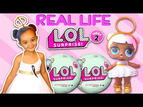 SERIES 2 REAL LIFE LOL SURPRISE DOLL, SPITS PEES CRIES