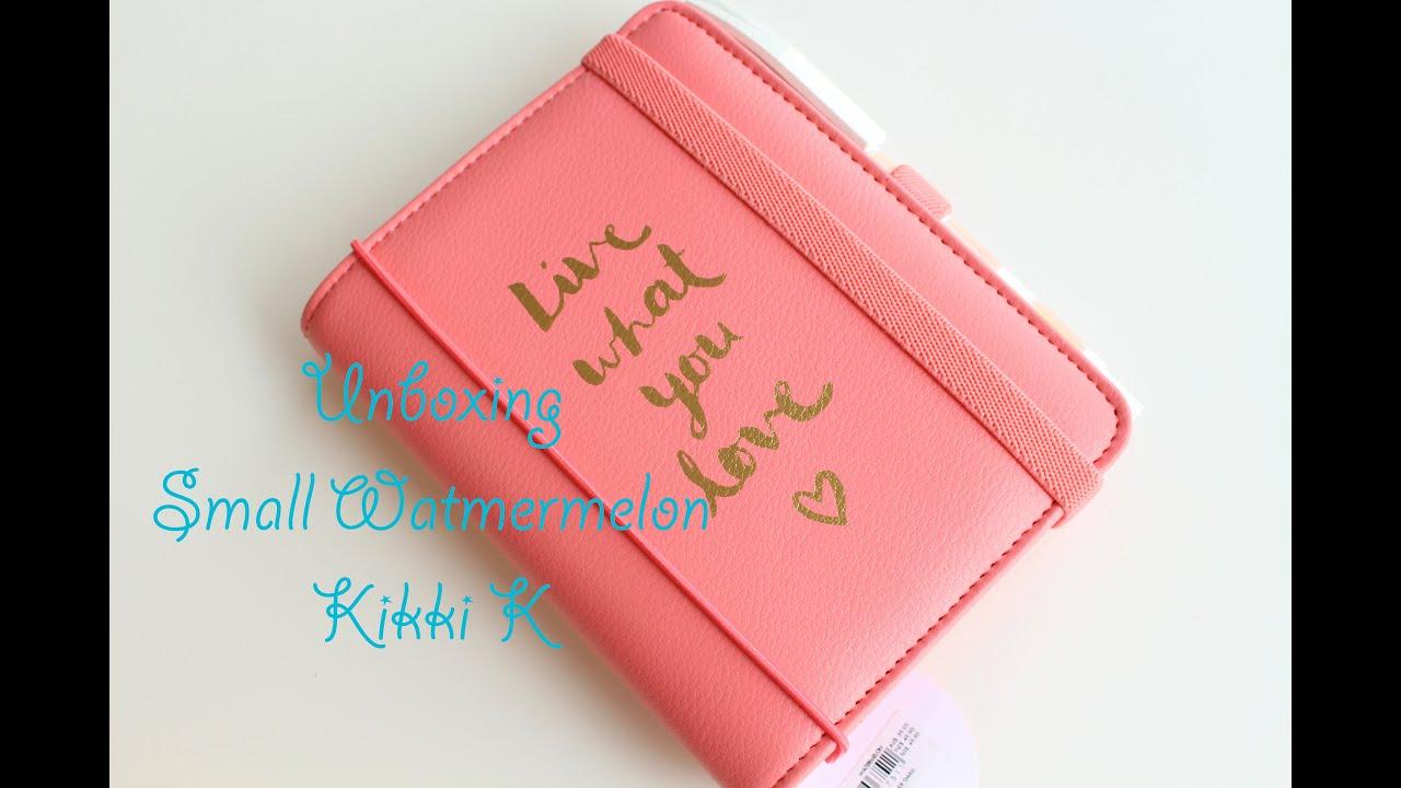 Kikki k Unboxing - Watermelon Pimp my Planner - YouTube