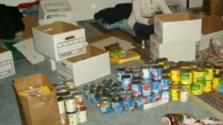 IMAAM provided food baskets to low income families