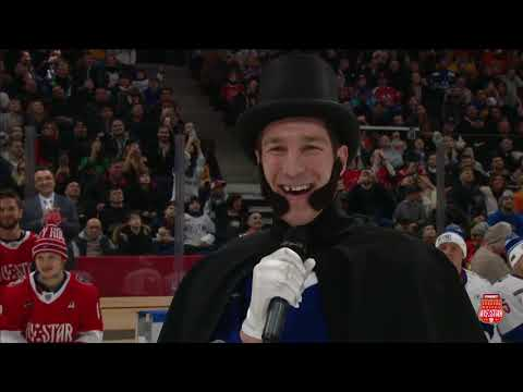 Dietz Dressed As Alexander Pushkin, Makes His Attempt