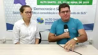 Sandy Barreto, coordenadora da Vigilância Epidemiológica, comenta sobre a comissão COVID 19 e acerca