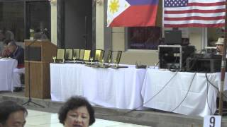 Performer at 4th Annual Kayamanan ng Bayan on New York Street in CBS Studio Center