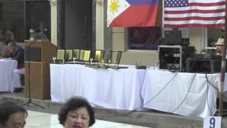 Performer at 4th Annual Kayamanan ng Bayan on New York Street in CBS Studio Center