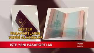İşte Yeni Pasaportlar