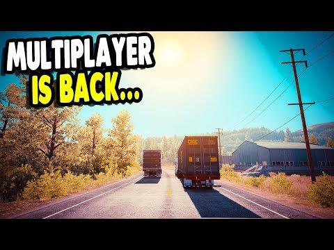 American Truck Simulator Multiplayer | Links Below to Join - WELCOME!