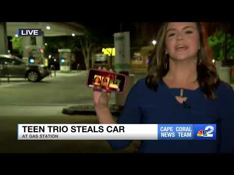 Three teens arrested for Cape Coral car theft