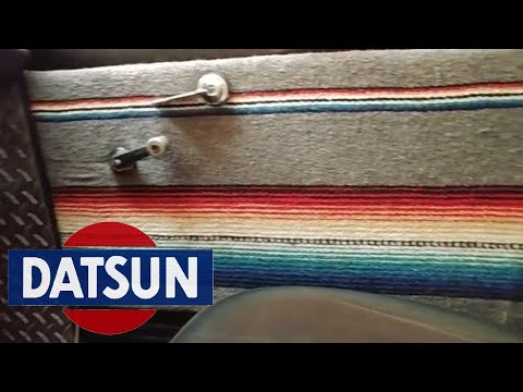 Datsun 521: Making New Custom Door Panels, Chicano Style!