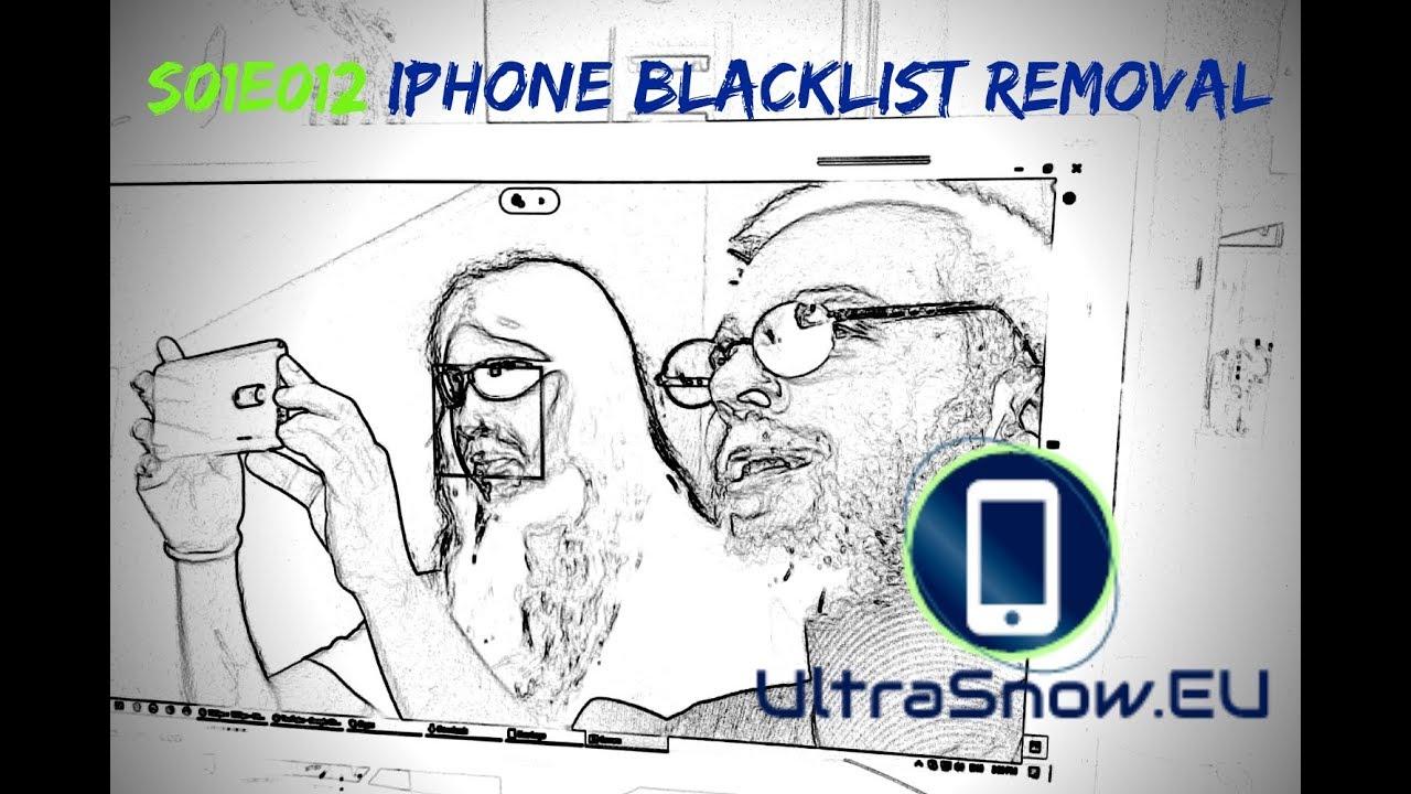 iPhone Blacklist Removal - UltraSnow EU | s01e12