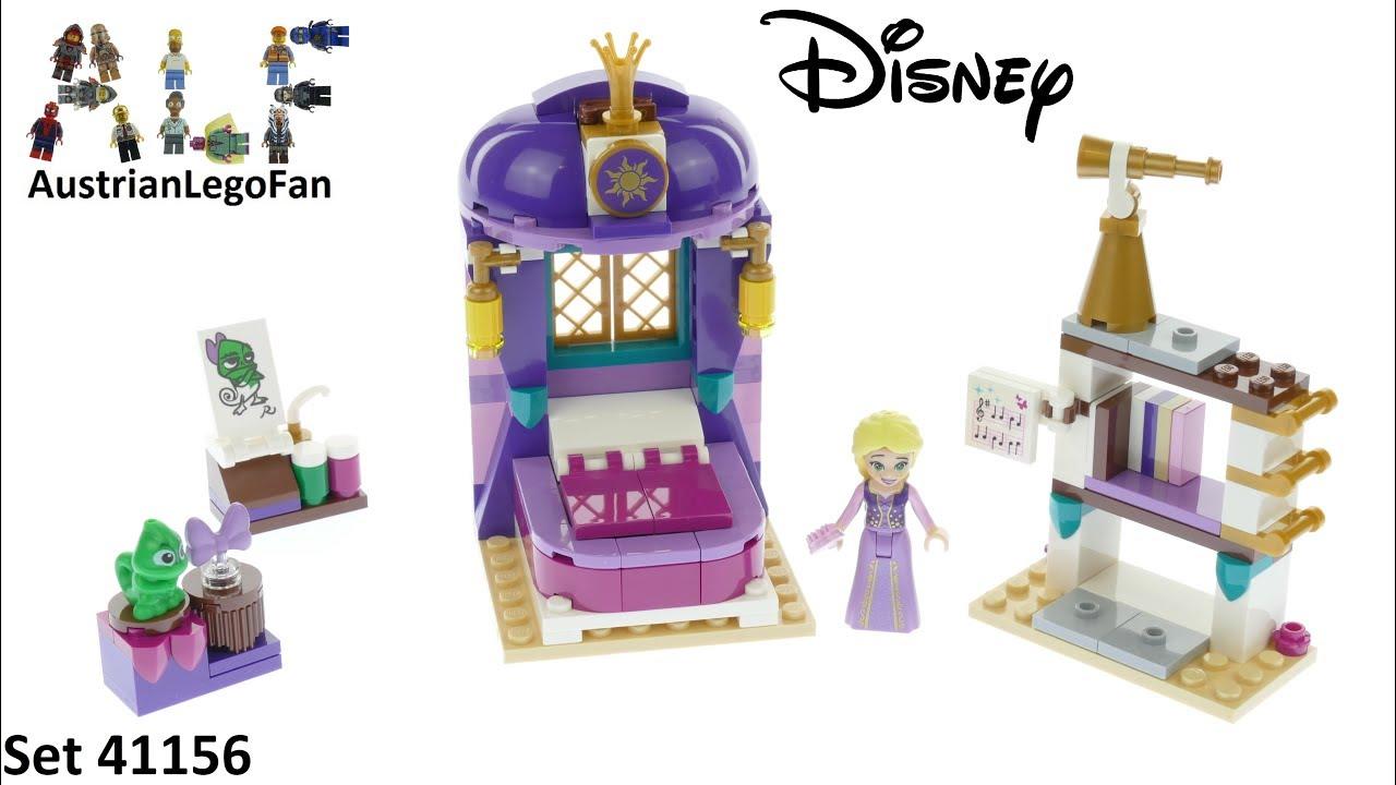 LEGO Repunzel Minifigure Disney Princess Minifig 41156 Dark Purple Top